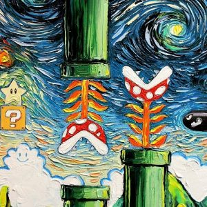 Geeky Vincent van Gogh Paintings