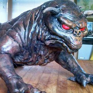Ghostbusters Terror Dog Statue