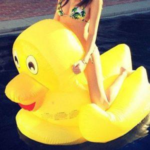 Giant Rubber Duck Pool Float
