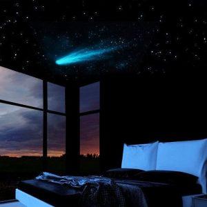 Glow In The Dark Shooting Star Decal