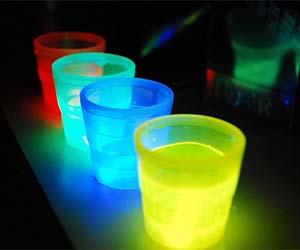 Glow In The Dark Shot Glasses