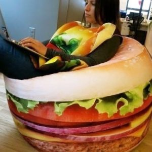 Hamburger Beanbag