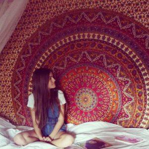 Hanging Mandala Tapestry