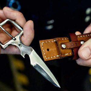 Hidden Belt Buckle Knife