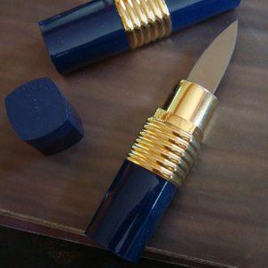 Hidden Lipstick Knife