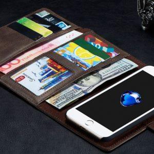 High Capacity iPhone Wallet