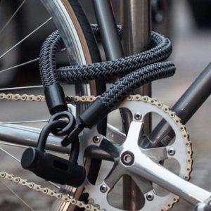 High Tech Textiles Bike Lock