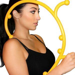 Hook Shaped Self Massager