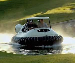 Hovercraft Golf Cart