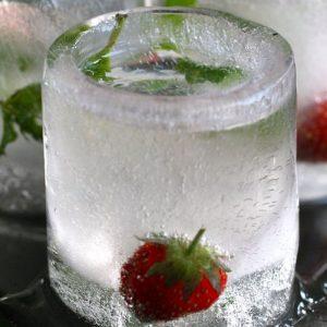 Ice Mold Shot Glasses