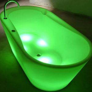 Illuminated Bath Tub