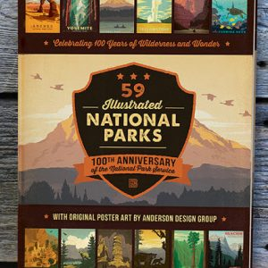Illustrated National Parks Book
