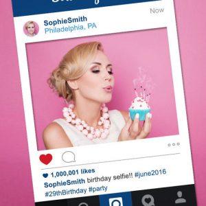 Instagram Photo Booth Prop