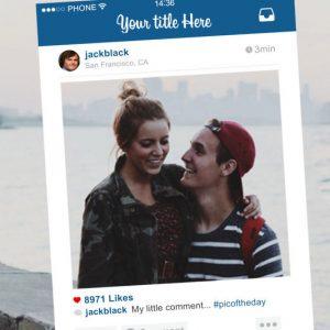 Instagram Post Photo Frame