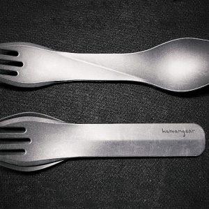 Interlocking Portable Eating Utensils
