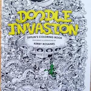 Intricate Illustrations Coloring Book