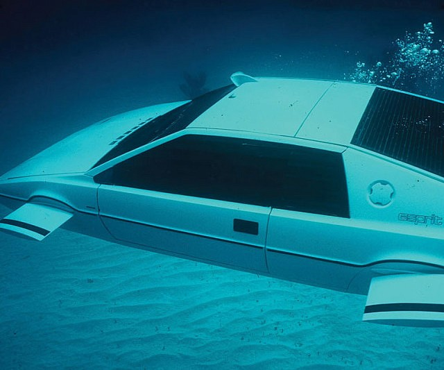 James Bond Submarine Car Interwebs
