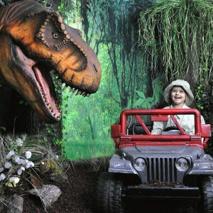 Jurassic Park Themed Photography Set