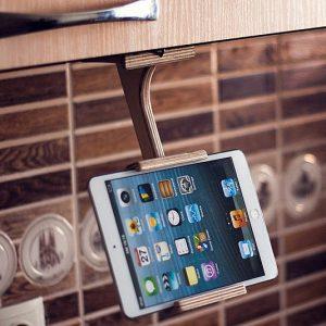 Kitchen Tablet And Smartphone Holder