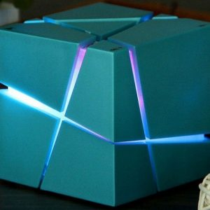 LED Bluetooth Cube Speaker