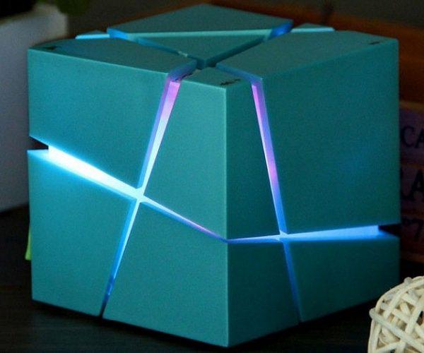 LED Bluetooth Cube Speaker