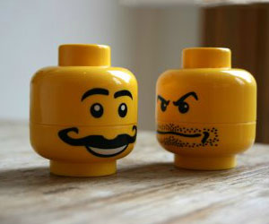 LEGO Salt And Pepper Shakers