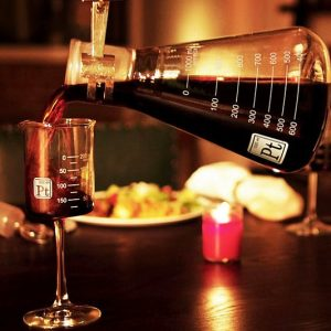 Laboratory Beaker Wine Glasses