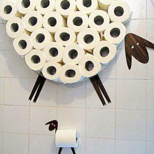 Lamb & Sheep Toilet Paper Holder