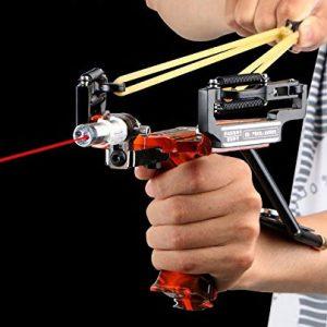Laser Assisted Tactical Slingshot