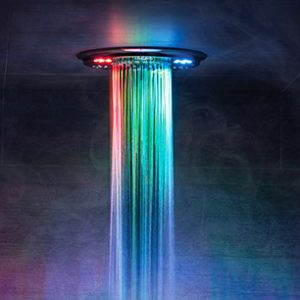 Light & Music Shower System