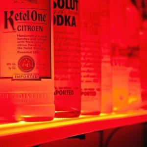 Light Up Liquor Shelf