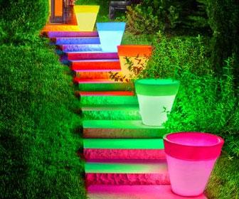 Light Up Planters Interwebs