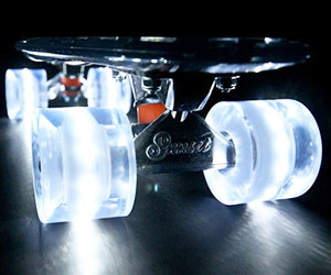 Light Up Polycarbonate Skateboard