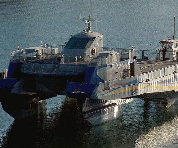 Lockheed Martin Military Catamaran