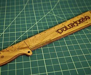 Machete Ruler