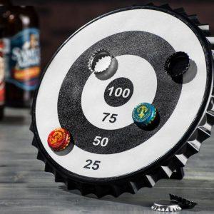 Magnetic Bottle Cap Bullseye