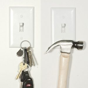 Magnetic Light Switch Cover