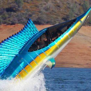 Marlin Semi-Submersible Watercraft