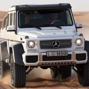 Mercedes Benz 6×6