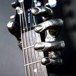 Metal Hand Guitar Grip