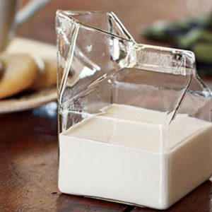Milk Carton Glass