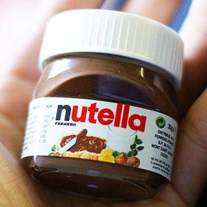 Mini Nutella Single Serve Jar