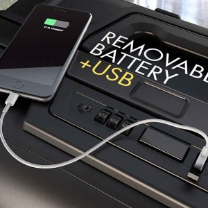 Modern Digital Zipperless Suitcase