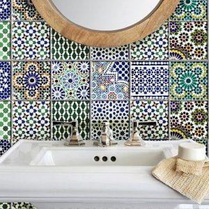 Moroccan Tile Wall Decal