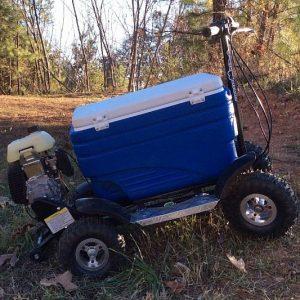 Motorized Beverage Cooler