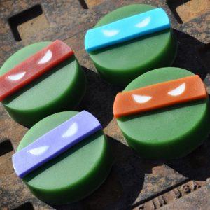 Ninja Turtles Soap Bar