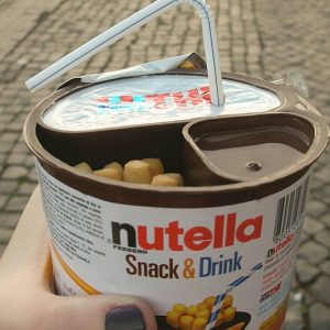 Nutella Snack And Drink Combo