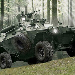 Otokar Armored Military Vehicle