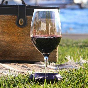 Outdoor Wine Glass Holders