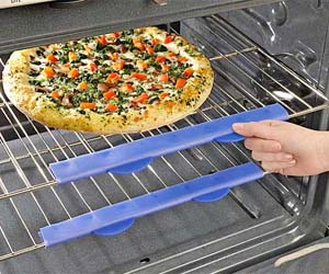 Oven Rack Burn Shield